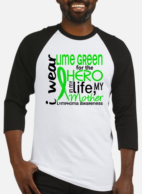 Hero in Life 2 Lymphoma Baseball Jersey