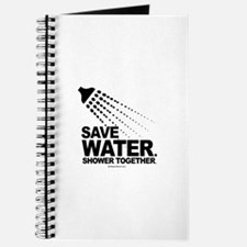 Save water. Shower together. - Journal