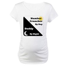 Number Cruncher by day Daddy by night Shirt