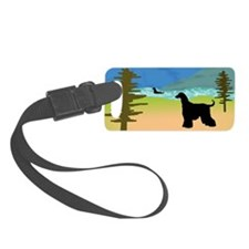 wild river afghan hounds wd3.jpg Luggage Tag