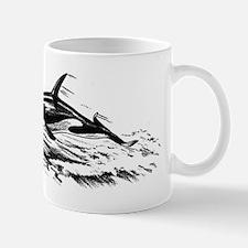 Vintage Killer Whale Mug