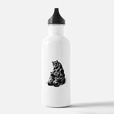 Vintage Bear Water Bottle