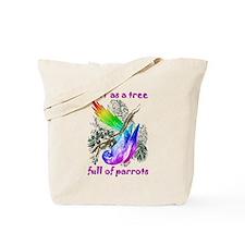 Pride Parrot Tote Bag