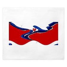 FIN-teach-man-fish-... Rectangular Canvas Pillow