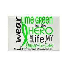 Hero in Life 2 Lymphoma Rectangle Magnet