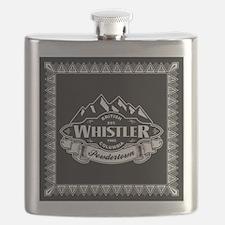 Whistler Mountain Emblem Flask