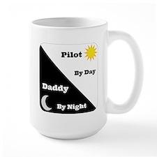 Pilot by day Daddy by night Mug