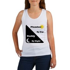 Plumber by day Daddy by night Women's Tank Top