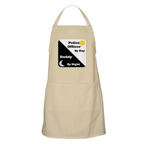 Police Officer by day Daddy by night Apron