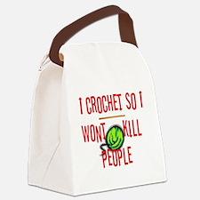 crochetkills090709.jpg Canvas Lunch Bag