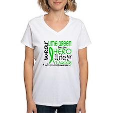 Hero in Life 2 Lymphoma Shirt