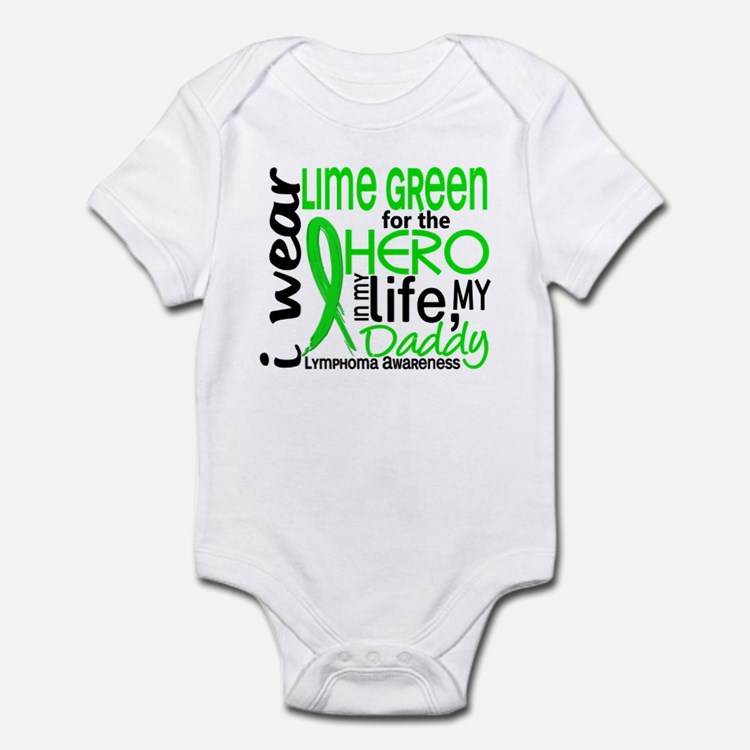 Hero in Life 2 Lymphoma Infant Bodysuit