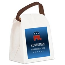 Jon Huntsman For President Canvas Lunch Bag