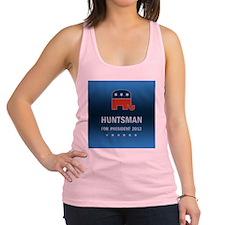 Jon Huntsman For President Racerback Tank Top