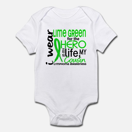 Hero in Life 2 Lymphoma Infant Bodysuit