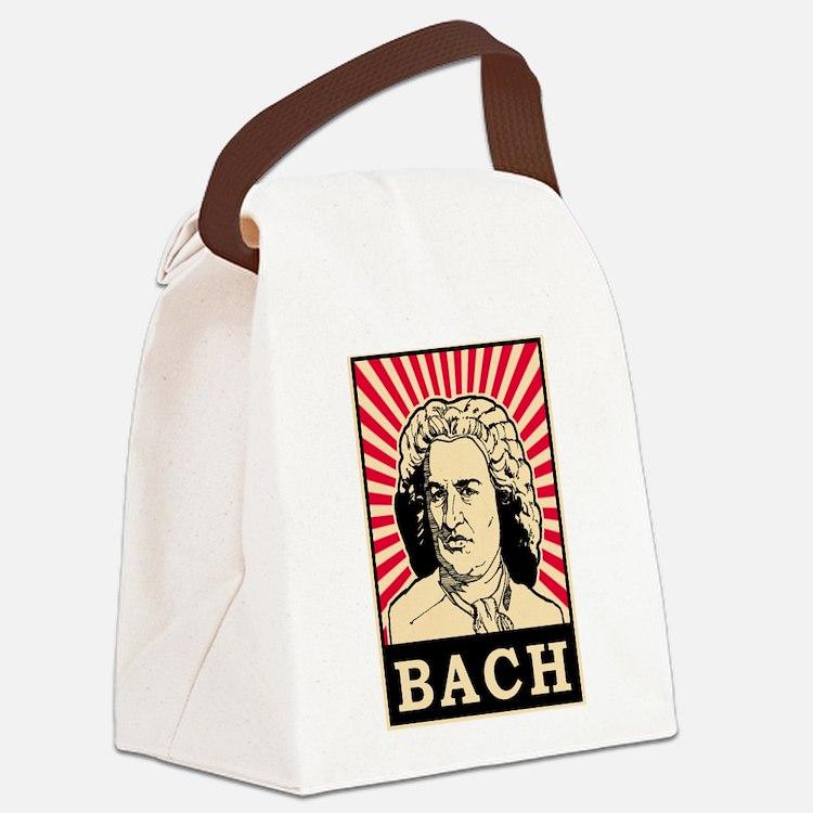 Pop Art Bach Canvas Lunch Bag