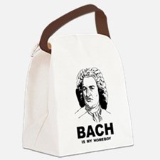 Bach Is My Homeboy Canvas Lunch Bag