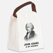 John Adams Is My Homeboy Canvas Lunch Bag