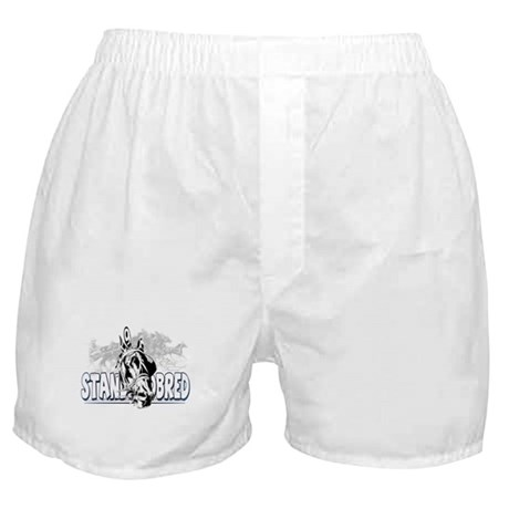 Standardbred Racing Boxer Shorts