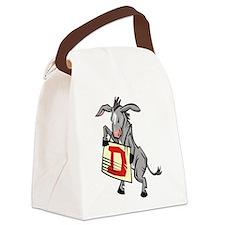 Democrat Canvas Lunch Bag