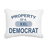 XXL Democrat Rectangular Canvas Pillow