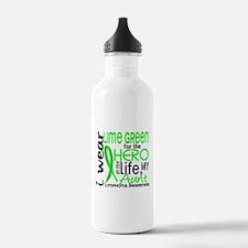 Hero in Life 2 Lymphoma Water Bottle