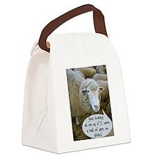 dontewe102408.jpg Canvas Lunch Bag
