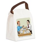 Car Dependent Canvas Lunch Bag
