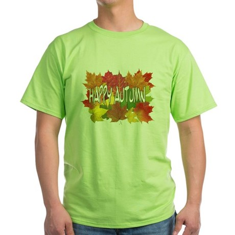 autumn.JPG Green T-Shirt