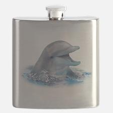 Happy Dolphin Flask