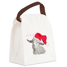 sabrinaxmascard.png Canvas Lunch Bag