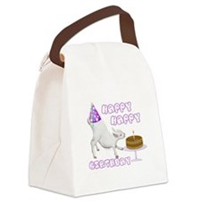 goat-happyhappyb-day.png Canvas Lunch Bag