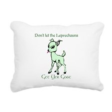 lepre-goat.png Rectangular Canvas Pillow