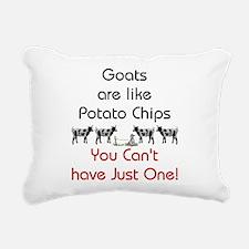 GOATS-potatochips.png Rectangular Canvas Pillow