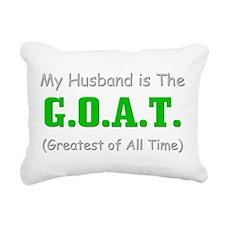 GOAThusband.png Rectangular Canvas Pillow