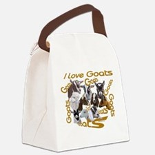 Goat-ILOVE.png Canvas Lunch Bag