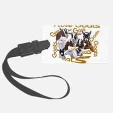 Goat-ILOVE.png Luggage Tag