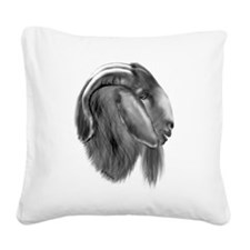boerbuck-drawing3.png Square Canvas Pillow