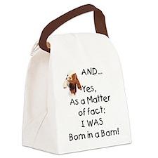 GOATS-borninbarn.png Canvas Lunch Bag