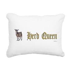Funny Pygmy goats Rectangular Canvas Pillow