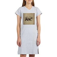Vintage Bear Women's Nightshirt