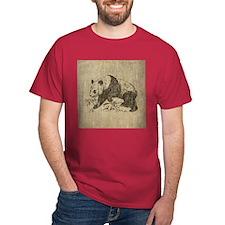 Vintage Panda T-Shirt