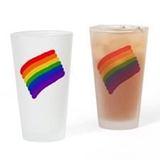 Proud Rainbow Drinking Glass