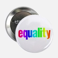 """Rainbow Equality 2.25"""" Button"""