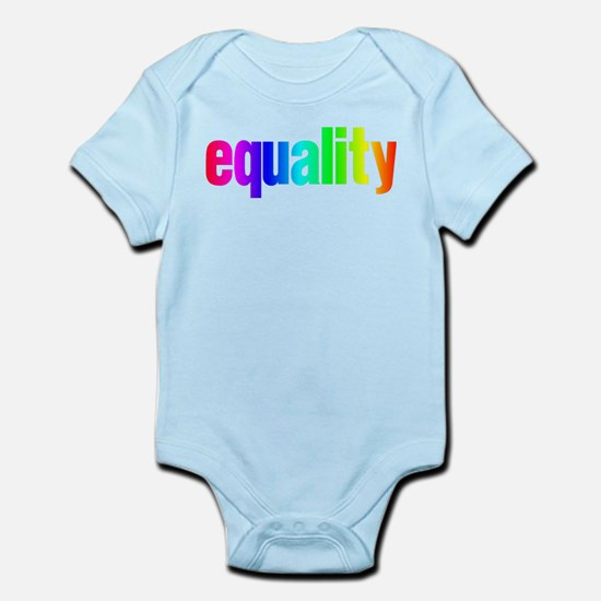 Rainbow Equality Infant Bodysuit