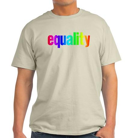 Rainbow Equality Light T-Shirt