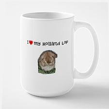 large Holland lop mug