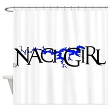 NACI3_BLK1 Shower Curtain