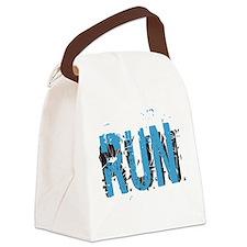 Grunge RUN Canvas Lunch Bag