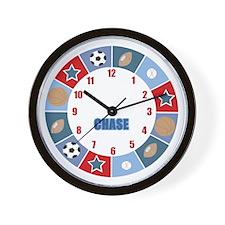 Chase All Stars Sports clock Wall Clock